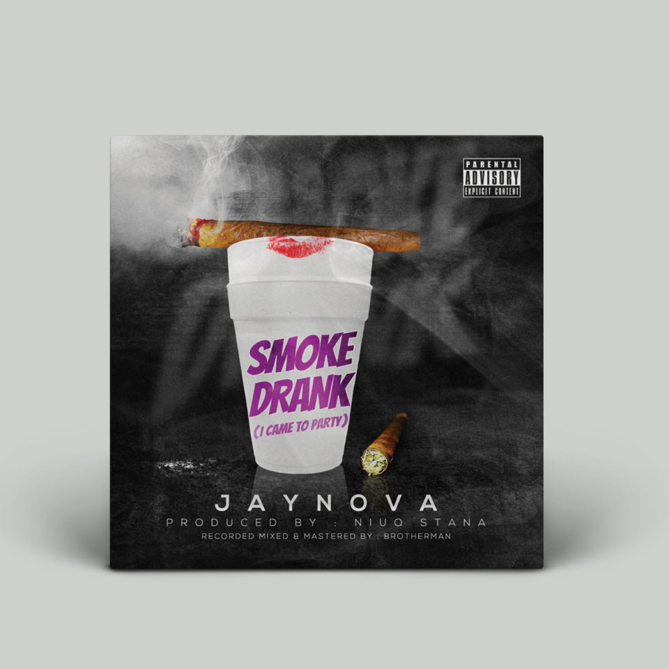 Jaynova – Smoke Drank Single Cover