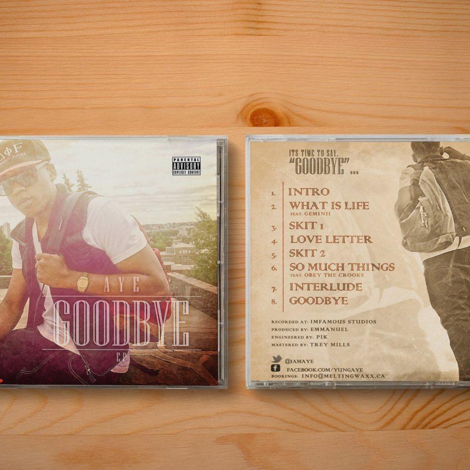 A.Y.E. Goodbye Album Cover
