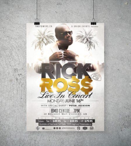 Rick Ross Concert Poster