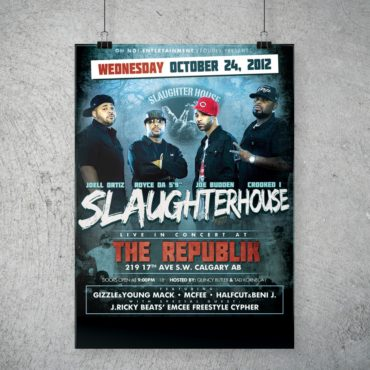 Slaughterhouse Concert Poster