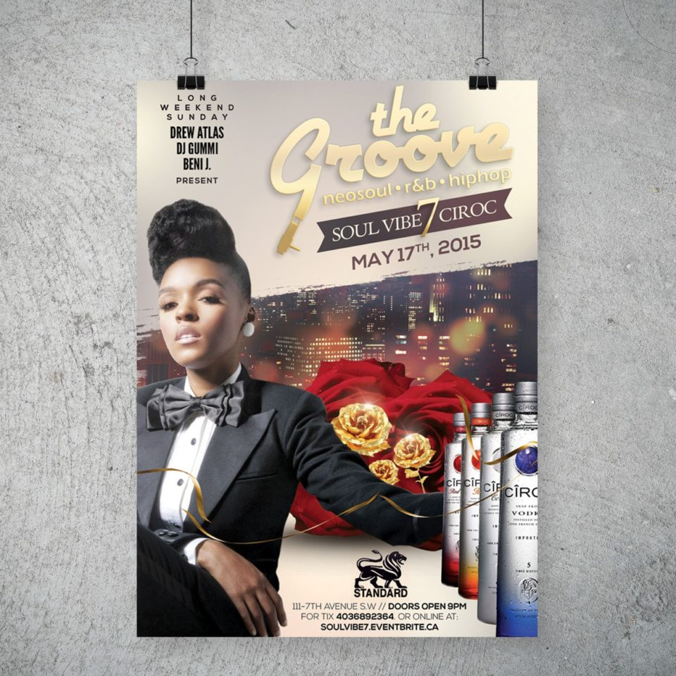 The Groove Soul Vibe Series Poster