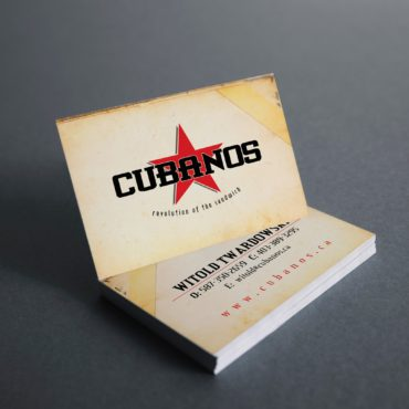 Cubanos Business Card