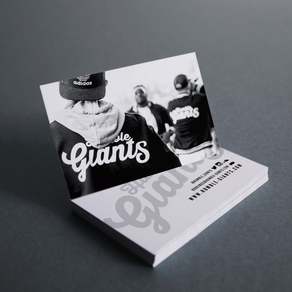 Humble Giants Business Cards