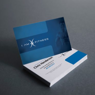 I Am Fitness Business Card