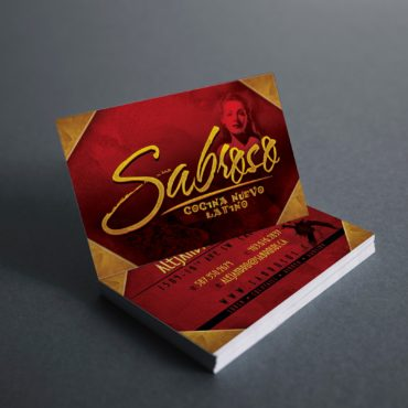 Sabroso Business Card