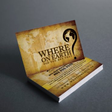 Where On Earth Did You Get That? Business Card