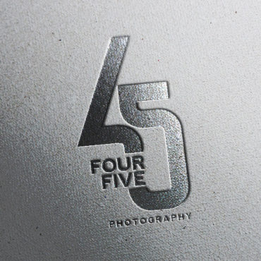 45 Photography Logo
