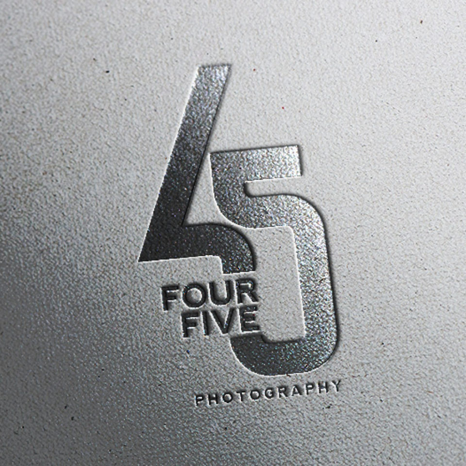 45 Photography Logo