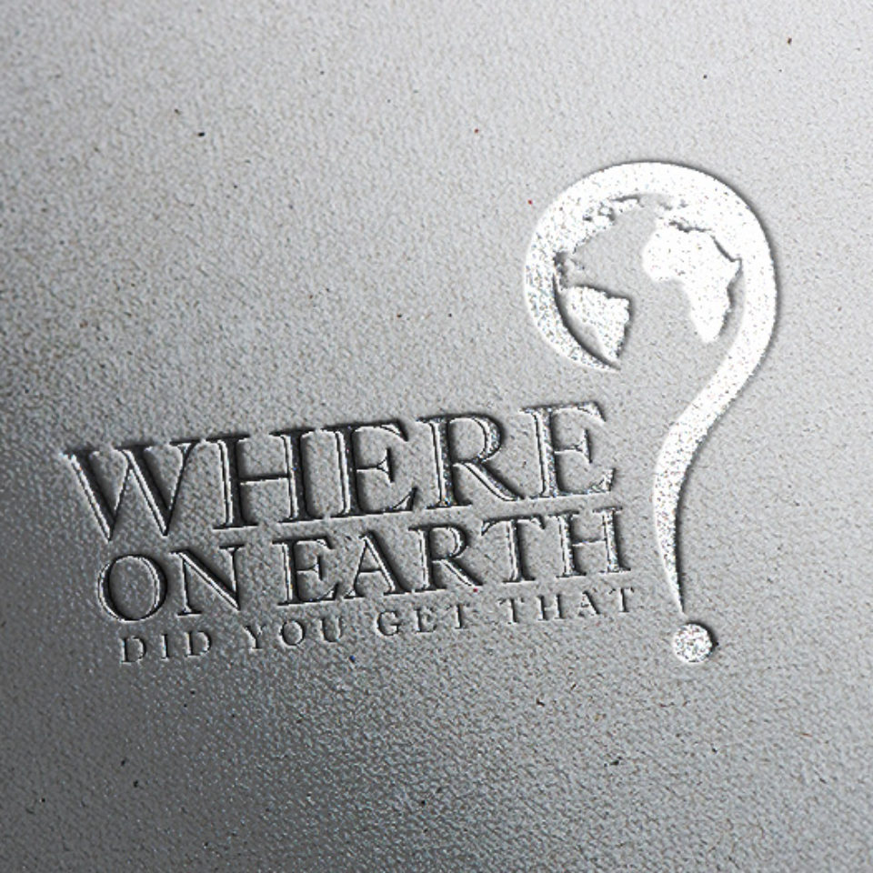 Where On Earth Did You Get That? Logo