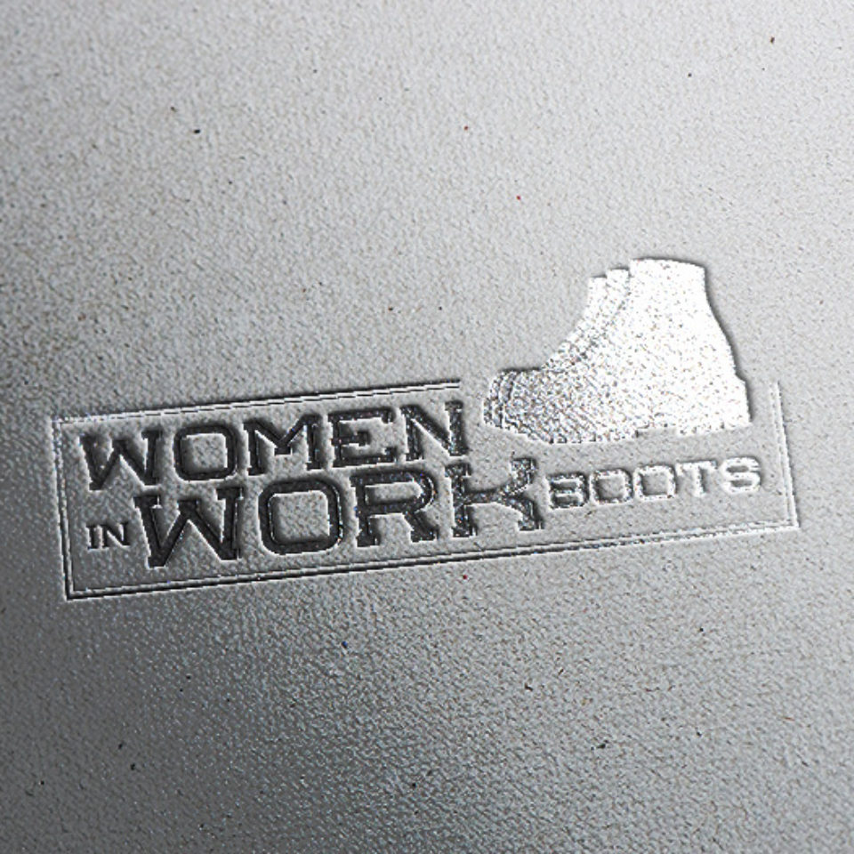 Women In Work Boots Logo