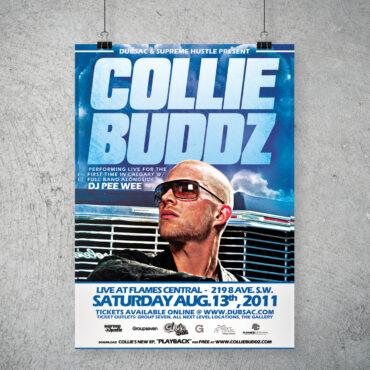 Collie Buddz Concert Poster