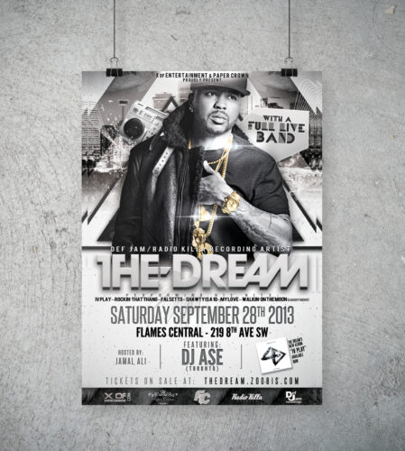 The Dream Concert Poster