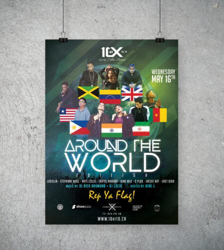 10 at 10 Showcase – Around The World poster