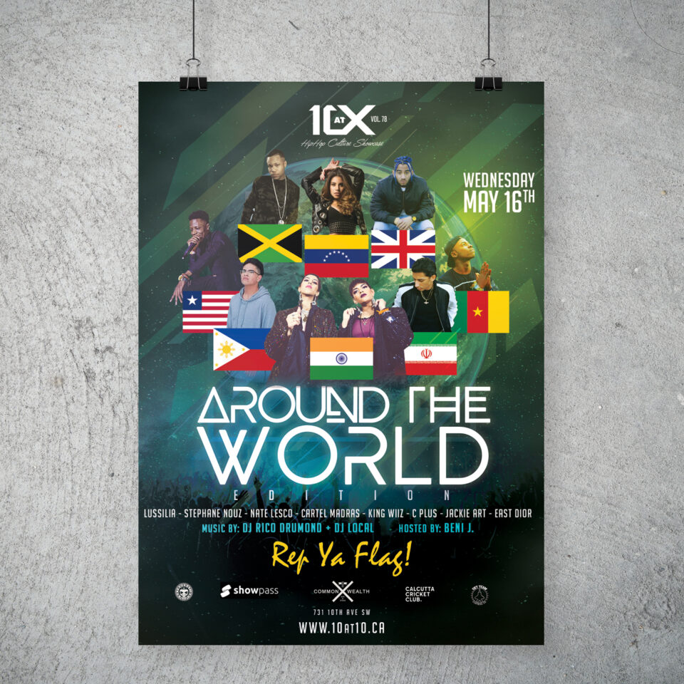 10 at 10 Showcase – Around The World poster