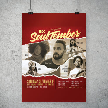 10 at 10 Soultember 3 poster