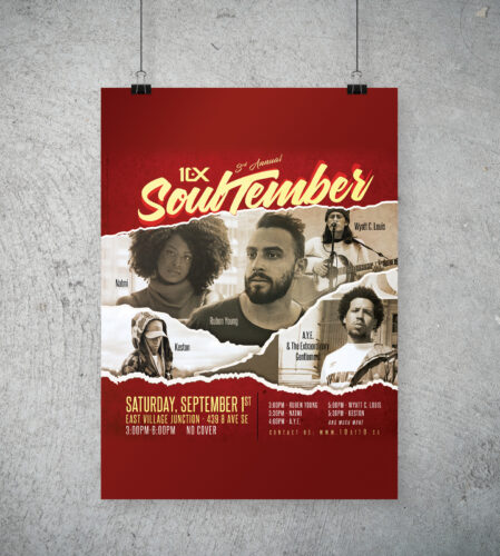 10 at 10 Soultember 3 poster