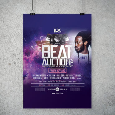 10 at 10 – Beat Auction poster