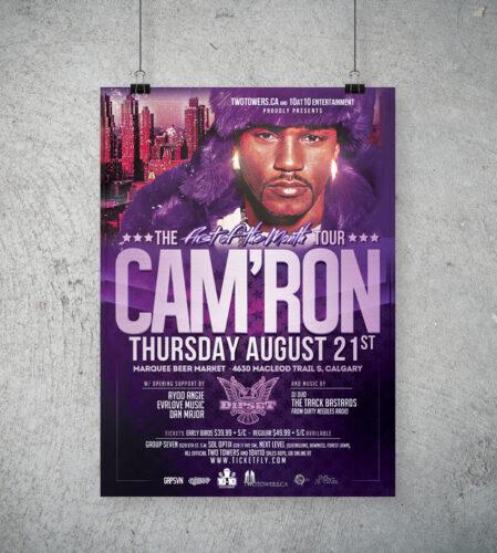 Cam'Ron Concert Poster